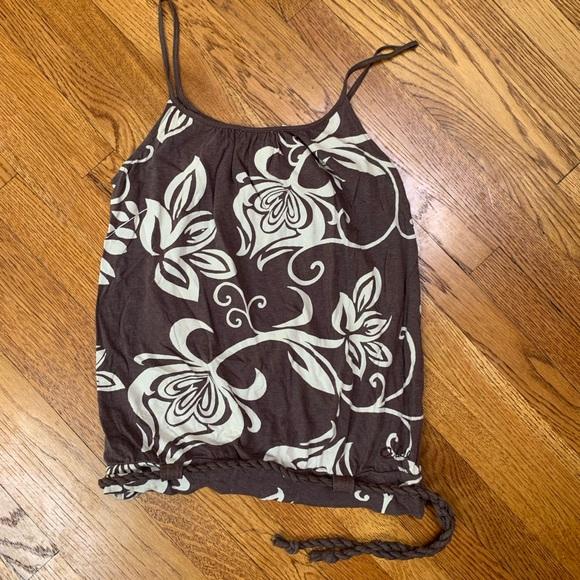 O/'Neill Beaches /& Boys Burnout Tank Top Womens Charcoal Black Tee Shirt New NWT
